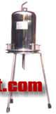 1L不锈钢桶式正压微孔滤膜过滤器正压滤器