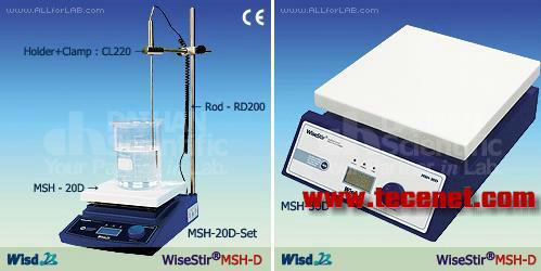 MSH-D 数显加热磁力搅拌器
