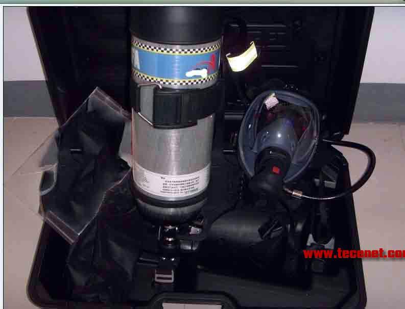 6.8L/30Mpa碳纤维气瓶空气呼吸器,