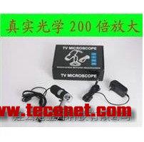带AV接口连接电视电子光学TV数码显微镜