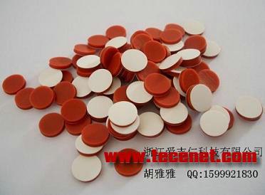 2ml瓶垫 特氟龙/硅胶隔垫 8*1.5mm垫片