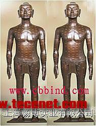 针灸模型|青铜针灸铜人模型|仿古针灸铜人