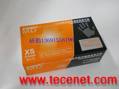 AMMEX爱马斯 一次性使用医用橡胶检查手套