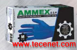 美国爱马斯一次性耐用型丁腈手套