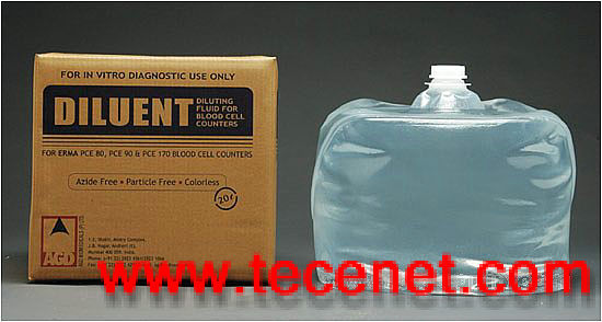 血球仪试剂软包装桶cubitainer