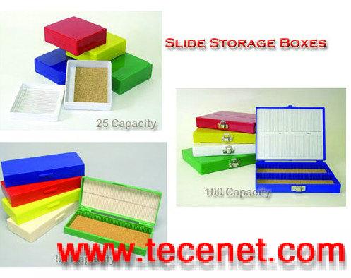 载玻片塑盒