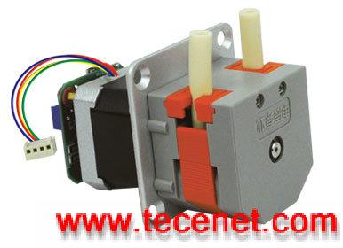 紧凑型蠕动泵 步进电机后置驱动电路