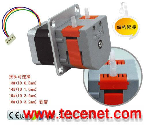 微型蠕动泵minipump,可采用多种电机驱动