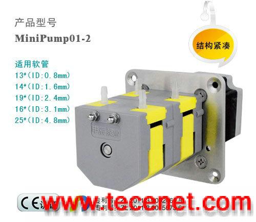 微型蠕动泵 多泵头级联