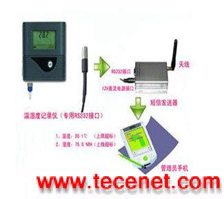 短信报警温度记录仪