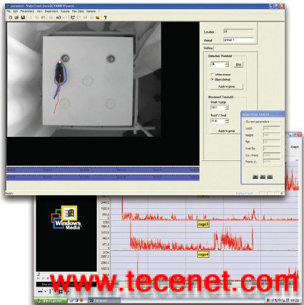 VideoTrack小动物行为分析系统