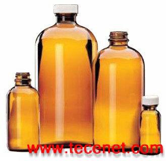 棕色玻璃瓶,采样瓶,PTFE聚四氟乙烯内垫