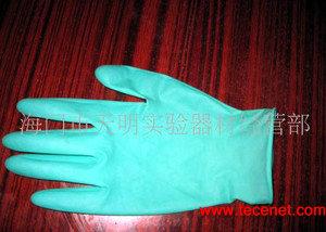 绿色芦荟无粉乳胶手套