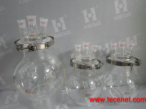 可拆卸式玻璃反应瓶