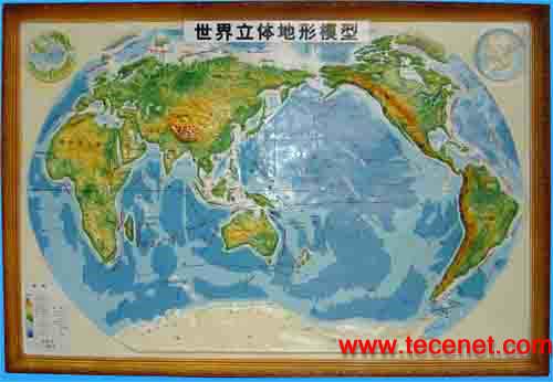 立体地图、立体地形图