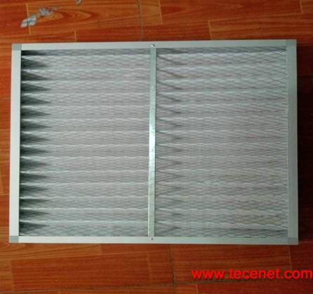 抛弃式初效折叠纸框滤网595*595*45mm