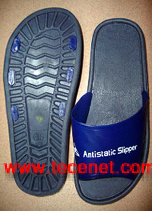 PVC防静电拖鞋