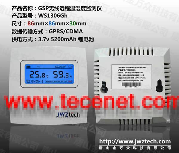 WS1306医药仓储物流GSP温湿度监测仪