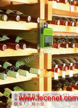 红酒类食品温湿度记录仪器