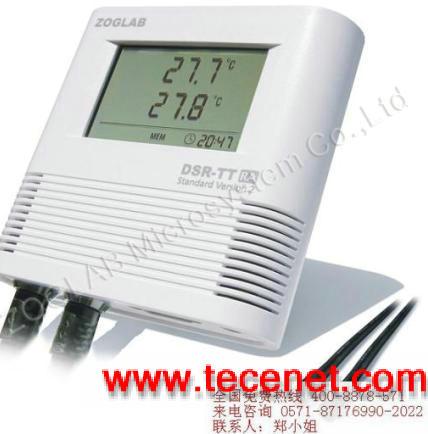 双温度记录仪