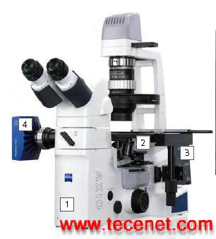 蔡司最新科研级倒置显微镜Axiovert A1