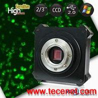 拍摄弱光荧光显微镜CCD相机UC141S