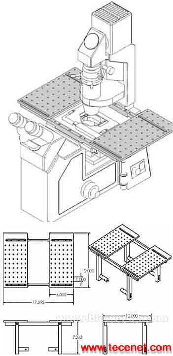 显微镜扩展平台