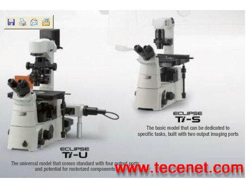 尼康Ti-E/U/S科研级倒置镜显微镜