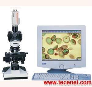 彩色电视视频生物显微镜