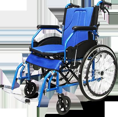 铝合金手动轮椅(DY1973LAH)